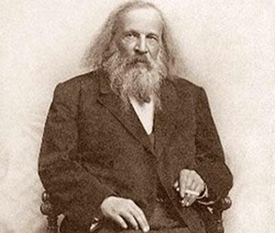 биография Менделеев Дмитрий Иванович